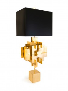 Brass Puzzle Lamp