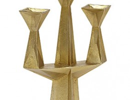 Gem Candelabra Gold Tilted 1